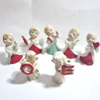 Christmas Angel Candle Holder | eBay