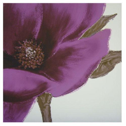 Purple Flower Canvas Pictures  eBay