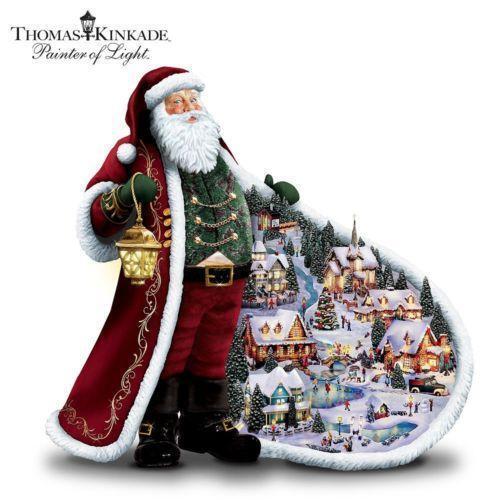 Thomas Kinkade Christmas eBay
