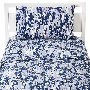 Blue Camo Bedding