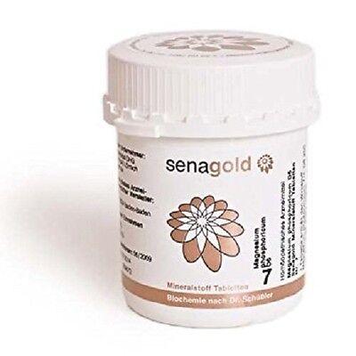 Schüßler Salz Nr.7 - Magnesium phosphoricum D6 - 400 Tabletten, glutenfrei