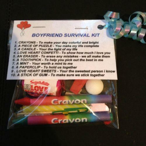 Boyfriend Survival Kit Celebrations Occasions Ebay