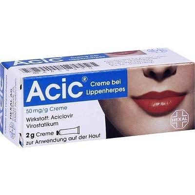 ACIC Creme bei Lippenherpes 2g PZN 8654310