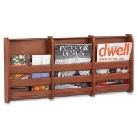 Wood Wall Magazine Rack | eBay