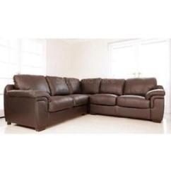 Black And White Leather Corner Sofa Dfs Aus Paletten Selbst Bauen | Ebay