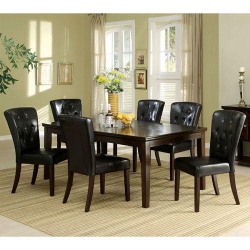 Walnut Dining Room Set  eBay
