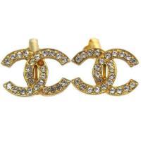 Chanel Rhinestone Earrings | eBay