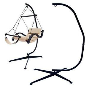 hammock chair stands cheap slipcovers stand ebay