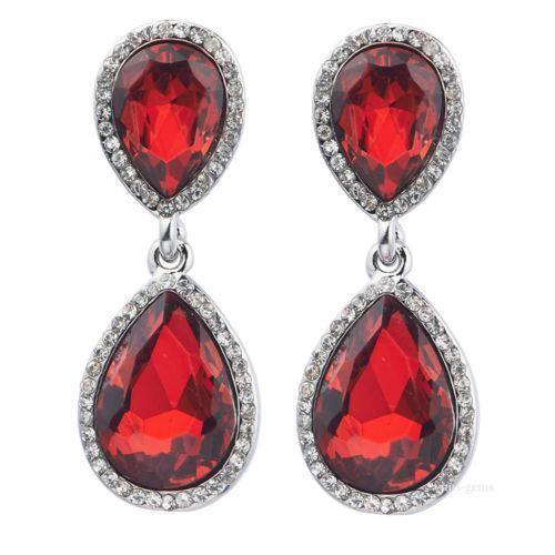 Antique Ruby Earrings EBay