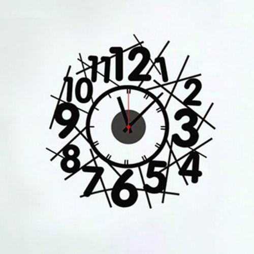 Wall Clock Decor Diy Ebay