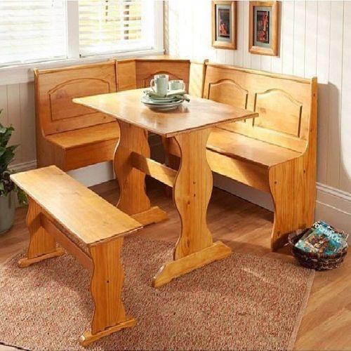 Kitchen Booth Dining Sets  eBay