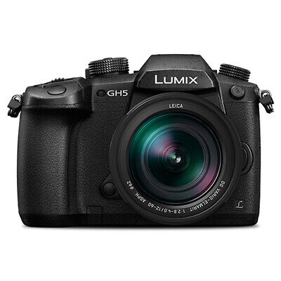 Panasonic Lumix DMC-GH5 Mirrorless Micro Four Thirds Camera with 12-60mm Lens