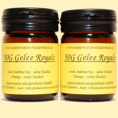 100g reines Gelee Royale + Analyse - 100g Gelee Royal