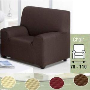 recliner chair covers dunelm steel weight limit arm ebay brown