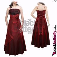 Long Evening Dress Size 24 | eBay