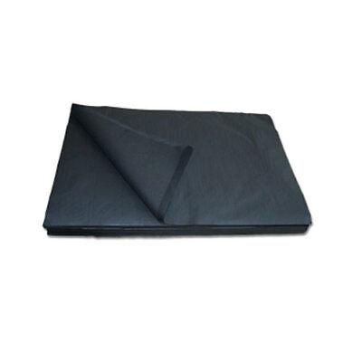 12,5 kg schwarze Packseide, 50x75cm, Packpapier, Seidenpapier