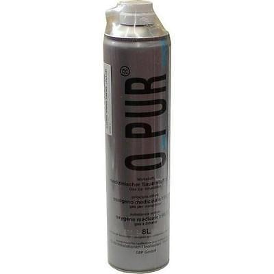 O PUR Sauerstoff Dose f.Maske Spray 8 l PZN 3044156