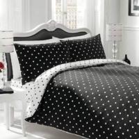 Polka Dot Comforter Sets Black And White - Orgasm Xxx