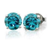 1/2 Carat Diamond Earrings | eBay
