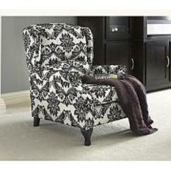 Tufted Leather Wingback Chair Hammock Walmart French   Ebay