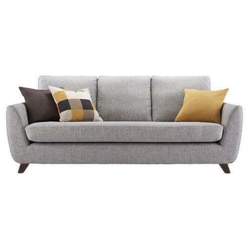 grey leather sectional sofa with recliners plastic legs uk g plan | ebay