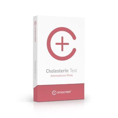 CERASCREEN Cholesterin Testkit 1 St PZN 11343683