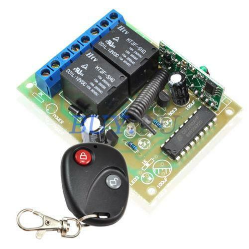 Wireless Wallmounted Switch Remote Control Kit For Ac Lamp
