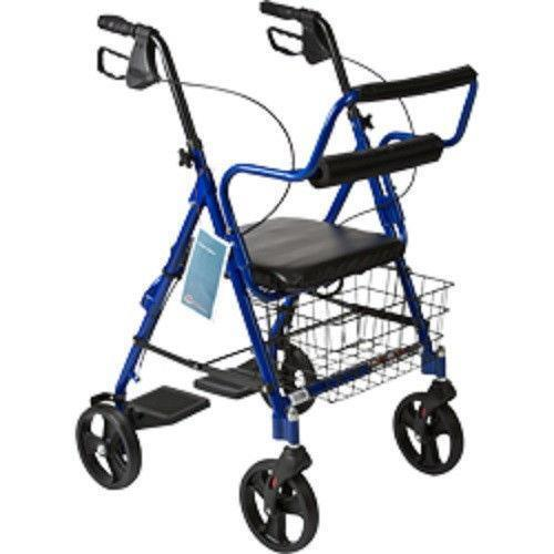 Rollator Transport Chair Mobility Equipment  eBay