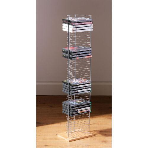 Wooden DVD Rack: Bookcases, Shelving & Storage