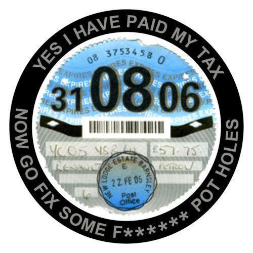 St Tax Disc Holder eBay