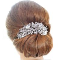 Majestic Pearl And Crystal Bridal Hair Piece | Wedding ...