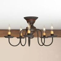 Thorndale-5-arm-Ceiling-Light-Primitive-Flush-Mount ...