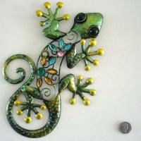 Gecko Metal Wall Art | eBay