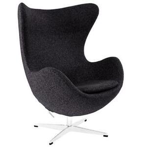 oversized moon chair canada outdoor folding with canopy egg ebay arne jacobsen
