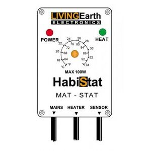 Habistat Mat Stat Reptile Thermostat for control of Heat