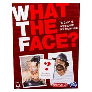 Spin Master Games - What the Face Board Game