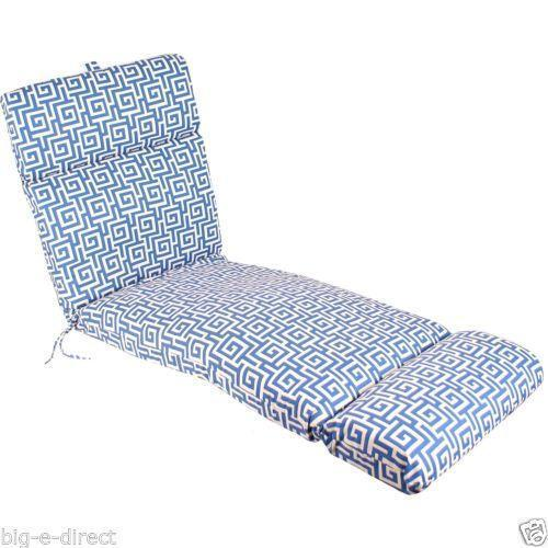 patio string chair crate and barrel chairs canada chaise lounge cushions | ebay