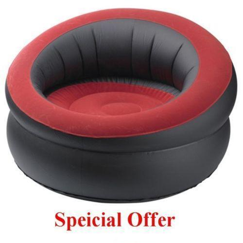 inflatable camping chair lazy boy leather chairs recliners ebay