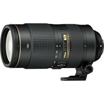 Nikon AF-S NIKKOR 80-400mm f/4.5-5.6G ED VR FX Full Frame Lens NIKON USA DEALER