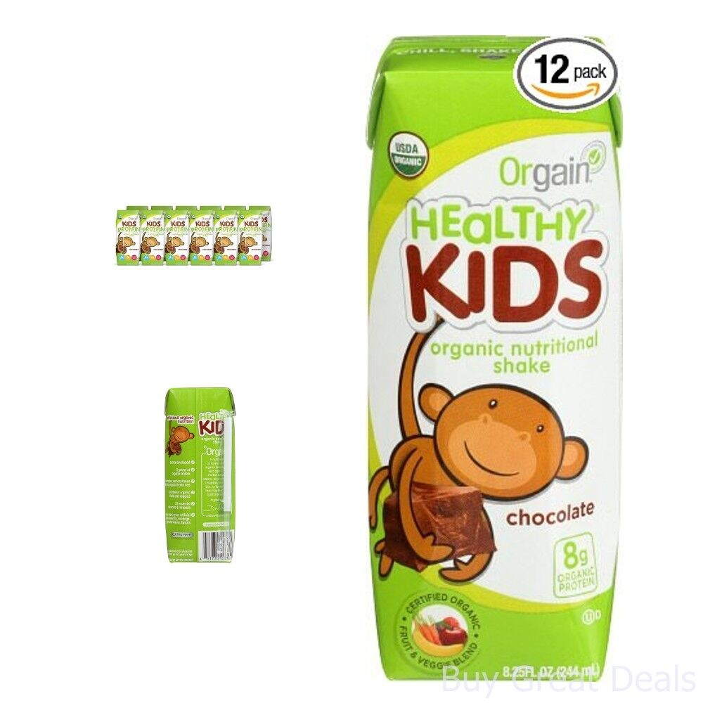 Meal Replacement Drinks Orgain Kids Protein Organic ...