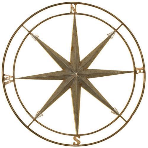 Compass Wall Decor  eBay