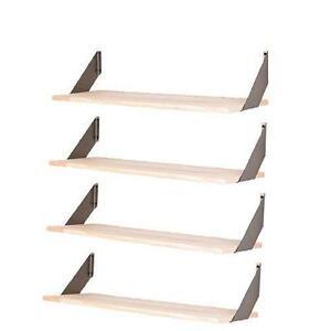metal kitchen shelf movable island ikea ebay wall shelves