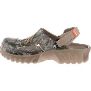 Crocs Off Road Realtree AP Clog Khaki Camo Outdoor Mens 10