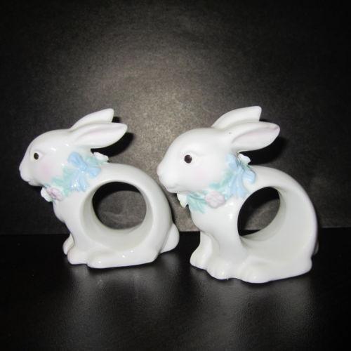 Bunny Napkin Rings  eBay