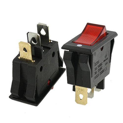spst lighted rocker switch wiring diagram 4g63 illuminated | ebay