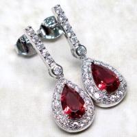 Ruby Earrings | eBay