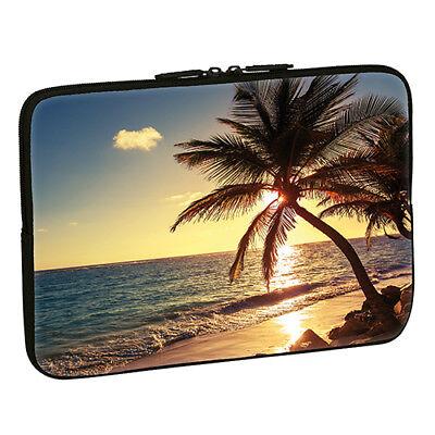 Design Notebook Schutzhülle 15,6 Zoll Laptop Hülle Tasche - Strand Beach Meer