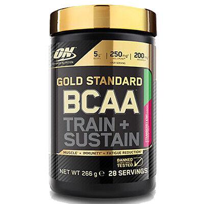 Optimum Nutrition Gold BCAA 28 Port. L-Leucin L-Isoleucin L-Valin Muskelaufbau