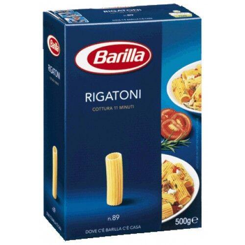 20x Pasta Barilla Rigatoni Nr. 89 italienisch Nudeln 500 g pack