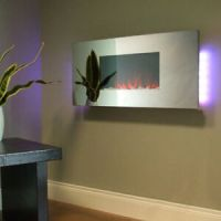 Mirror Electric Fire: Fireplaces | eBay